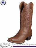Ariat Men's Legend Boots Square Toe Russet Rebel 2299