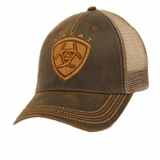 Ariat Men's Oil Skin Mesh Hat 1515602