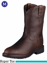 Ariat Men's Sierra Boots Roper Toe Henna Wildcat 10002429