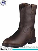 Ariat Men's Sierra Boots Roper Toe Henna Wildcat 2429