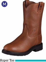 Ariat Men's Sierra Boots Roper Toe Sunshine Wildcat 10002428