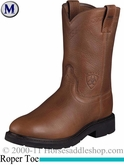 Ariat Men's Sierra Boots Roper Toe Sunshine Wildcat 2428