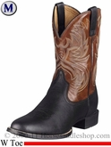 Ariat Mens Heritage Horseman Boots W Toe Black 2584