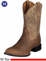 Ariat Mens Heritage Horseman Boots W Toe Earth 10002580