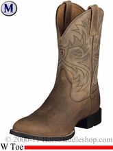 Ariat Mens Heritage Horseman Boots W Toe Earth 2580
