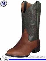 Ariat Mens Heritage Stockman Boots U Toe Cedar 2258