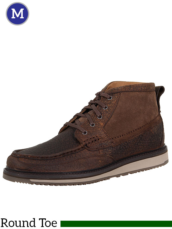 Mens Lookout Lace-Up Leather and Suede Casual Boot 10014153