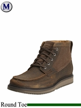 Ariat Mens Lookout Lace-Up Leather and Suede Casual Boot 14153