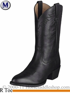 Ariat Mens Sedona Boots R Toe Black 2192