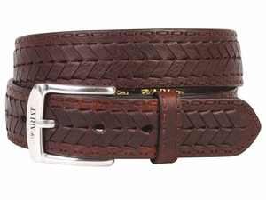 Ariat Mens Work Collection Brown Belt 4302
