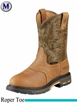 Ariat Mens Workhog Pull-On H2O Work Boot 8633
