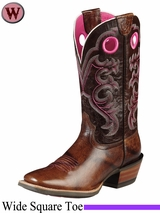 DISCONTINUED Ariat Women's Crossfire Boots Weathered Buckskin 8758