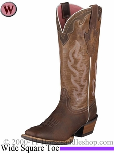 Ariat Women's Crossfire Caliente Boots 4817 Weathered Brown