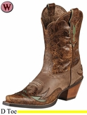 DISCONTINUED Ariat Women's Dahlia Boots Dainty Brown 8781