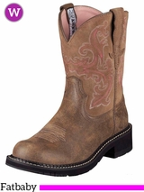 Ariat Women's Fatbaby II Boots Brown Bomber 10004730