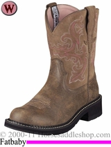 Ariat Women's Fatbaby II Boots Brown Bomber 4730