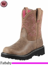 Ariat Women's Fatbaby Original Boots Brown Bomber 0822