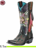 DISCONTINUED Ariat Women's Gypsy Soule Collection Boots Indian Sugar 10009510
