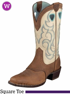 Ariat Women's Rawhide Boots Square Toe 6885