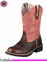 Ariat Women's Showbaby Boots Fatbaby Toe 1205