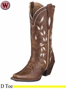 DISCONTINUED Ariat Women's Sonora Boots Bitterwater Brown 6310