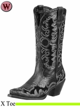 DISCONTINUED Ariat Women's Western Fashion Dandy Boots 10263