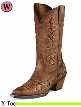 Ariat Women's Western Fashion Dandy Boots 7964
