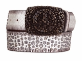 Ariat Womens Contemporary Silver Belt - Rockin Ready 8161