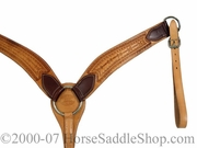 Barbed Wire Roping Breast Strap by Billy Cook 12-725