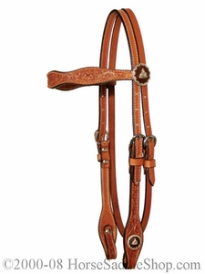 Barrel Racer Browband Headstall by Circle Y y0160-0554