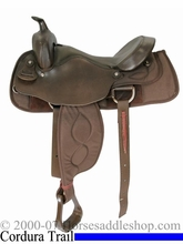 "Big Horn Extra Wide 16"" Trail Saddle 306"