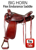 Big Horn Flex Lite Endurance Saddle FQHB 804 Review Video