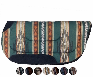 "Big Horn Round Skirt Saddle Pad 28""L x 28""D 7910"