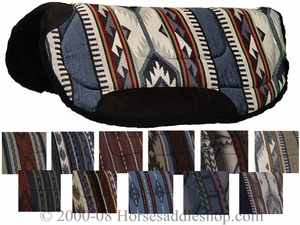 "Big Horn Round Skirt Saddle Pad 7910 28"" x 28"""