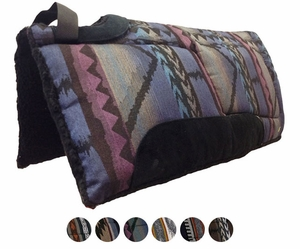 "Big Horn Tuffy Cut Back Built Up Saddle Pad 32""L x 32""D 7905"