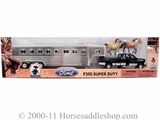 Bigtime Rodeo Ford F350 Truck and Trailer Set by M & F 50632
