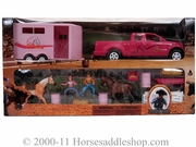 Bigtime Rodeo Toy Barrel Racing Set 50644