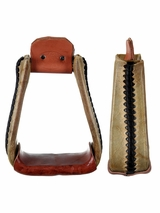 "Billy Cook 3"" Deep Roper Stirrups"