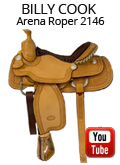 Billy Cook Arena Roper 2146 Video Review