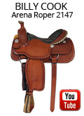 Billy Cook Arena Roper 2147 Video Review