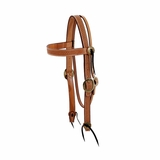 Billy Cook Basketweave Browband Headstall CLEARANCE