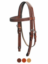 Billy Cook Basketweave Browband Headstall 11-794