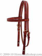 Billy Cook Browband Headstall w/Basketweave 11-737