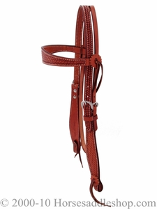Billy Cook Cowboy Headstall SS Hardware 11-701