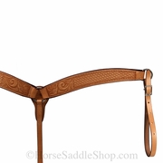 Billy Cook Floral Basket Ropers Breast Collar 12-903