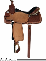 "** SALE ** 14"" to 16"" Billy Cook Ladies All Around Saddle 2042"