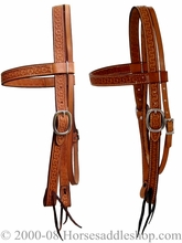 Billy Cook Running W Browband Headstall 11-736