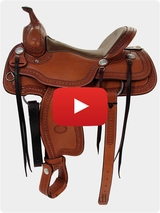 Billy Cook Trail Saddle 1777 Video Review