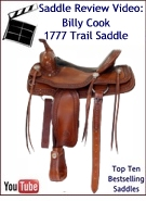 Billy Cook Trail Saddle 1777 Review Video