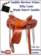 Billy Cook Wade Tree Ranch Saddle Review Video